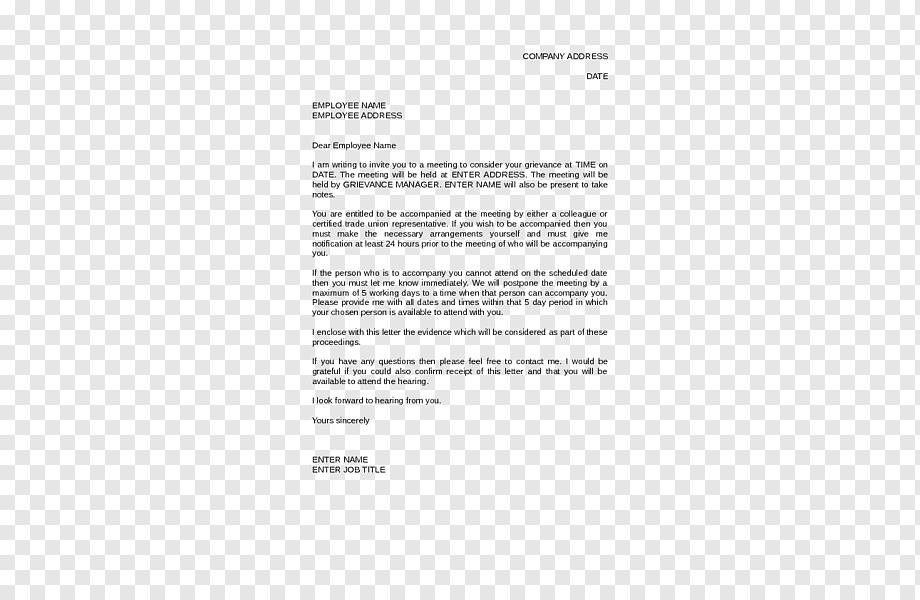 dokument beschwerde vorlage kundigung
