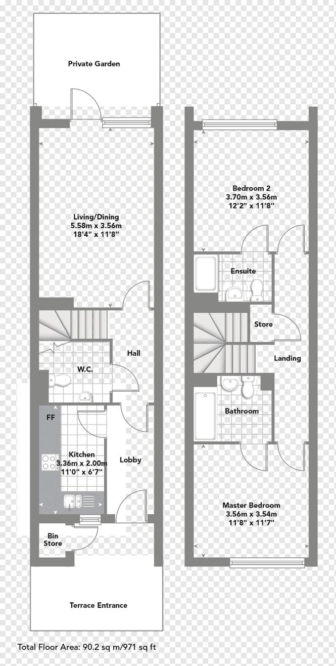 Finchley Apartment Floor Plan Duplex