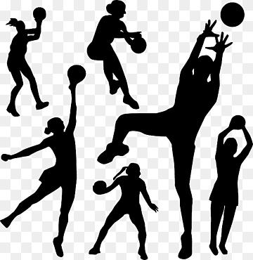 sport netball handball hand human