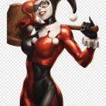 Harley Quinn Illustration Batman Arkham City Harley Quinn Joker Poison Ivy Harley Quinn Comics Heroes Comic Book Png Pngwing
