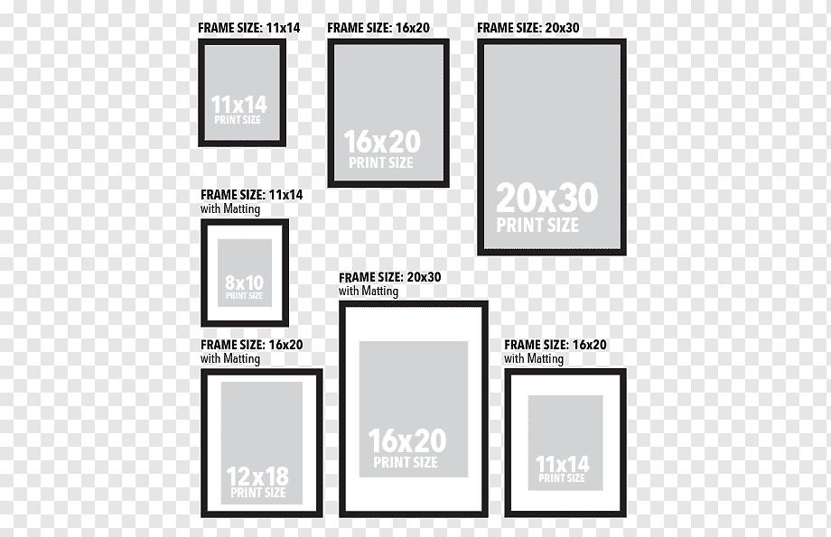 frames paper printing pattern wall