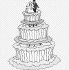 Buku Pernikahan Di Kana Mewarnai Ausmalbild Line Art Kue Pengantin Ulang Tahun Pernikahan Makanan Orang Lain Png Pngwing - Perkawinan Kana, Gereja Kana Ziarah Tempat Mukjizat Pertama Kali Yesus Di Israel
