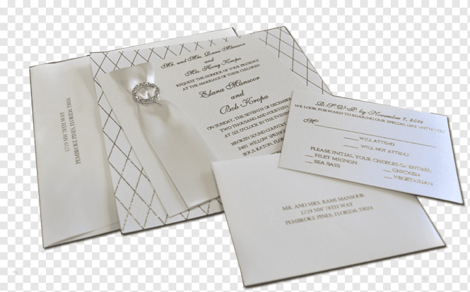 Paper Green Wedding Stationery