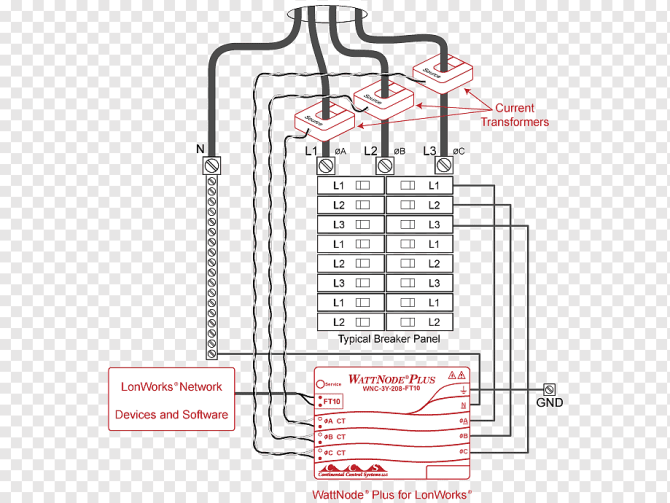 current transformer electricity meter wiring diagram
