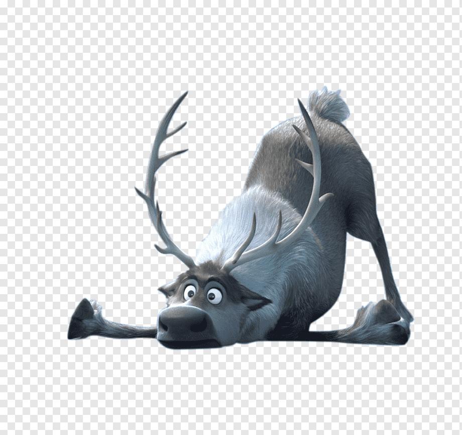 Frozen Reindeer Frozen Reindeer Sven Png Pngwing
