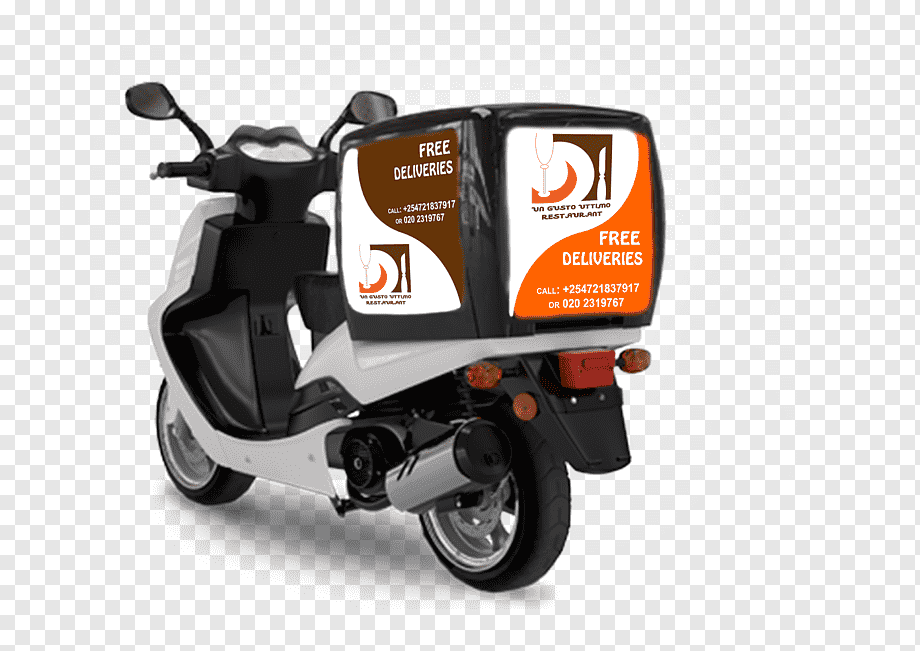 Your delivery motorcycle mockup stock images are ready. Scooter Motorcycle Accessories Bicycle Motor Vehicle Delivery Motorcycle Custom Motorcycle Pizza Delivery Png Pngwing