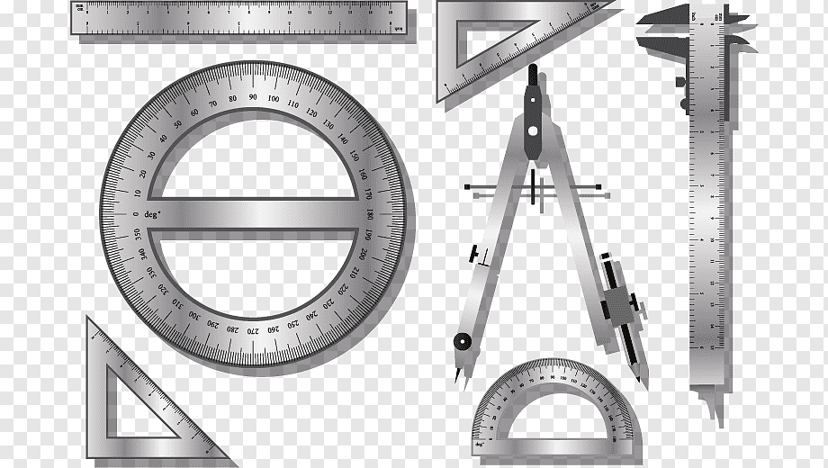 Ruler Compass Drawing Tools Angle Construction Tools Happy Birthday Vector Images Png Pngwing