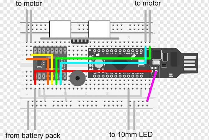 breadboard wiring diagram electrical wires  cable