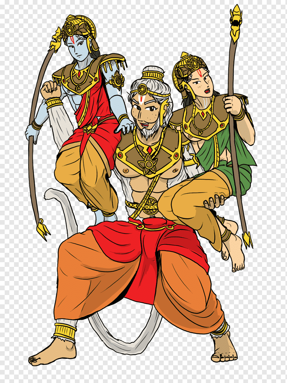Ramayana Sita Hanuman Mahabharata Hanuman Cartoon Fictional Character Religion Png Pngwing