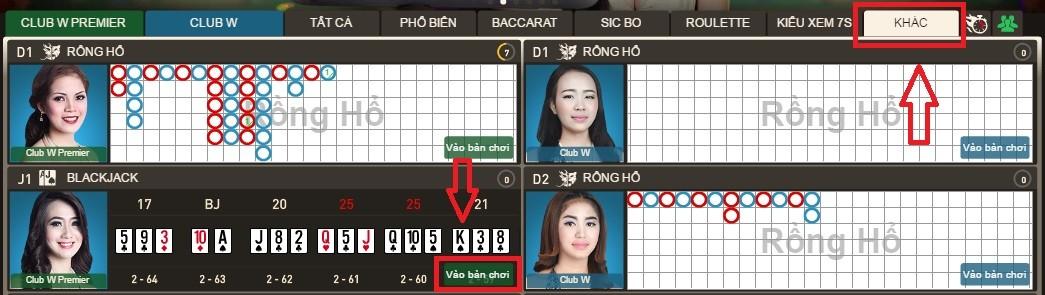 Hướng dẫn cách chơi bài Blackjack tại W88