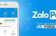 W88 chính thức hỗ trợ gửi tiền qua Zalo Pay