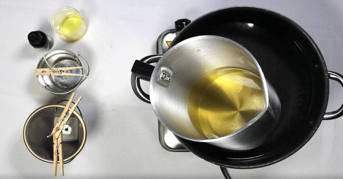 How To Make Candles Using A Double Boiler Armatage Candle Company