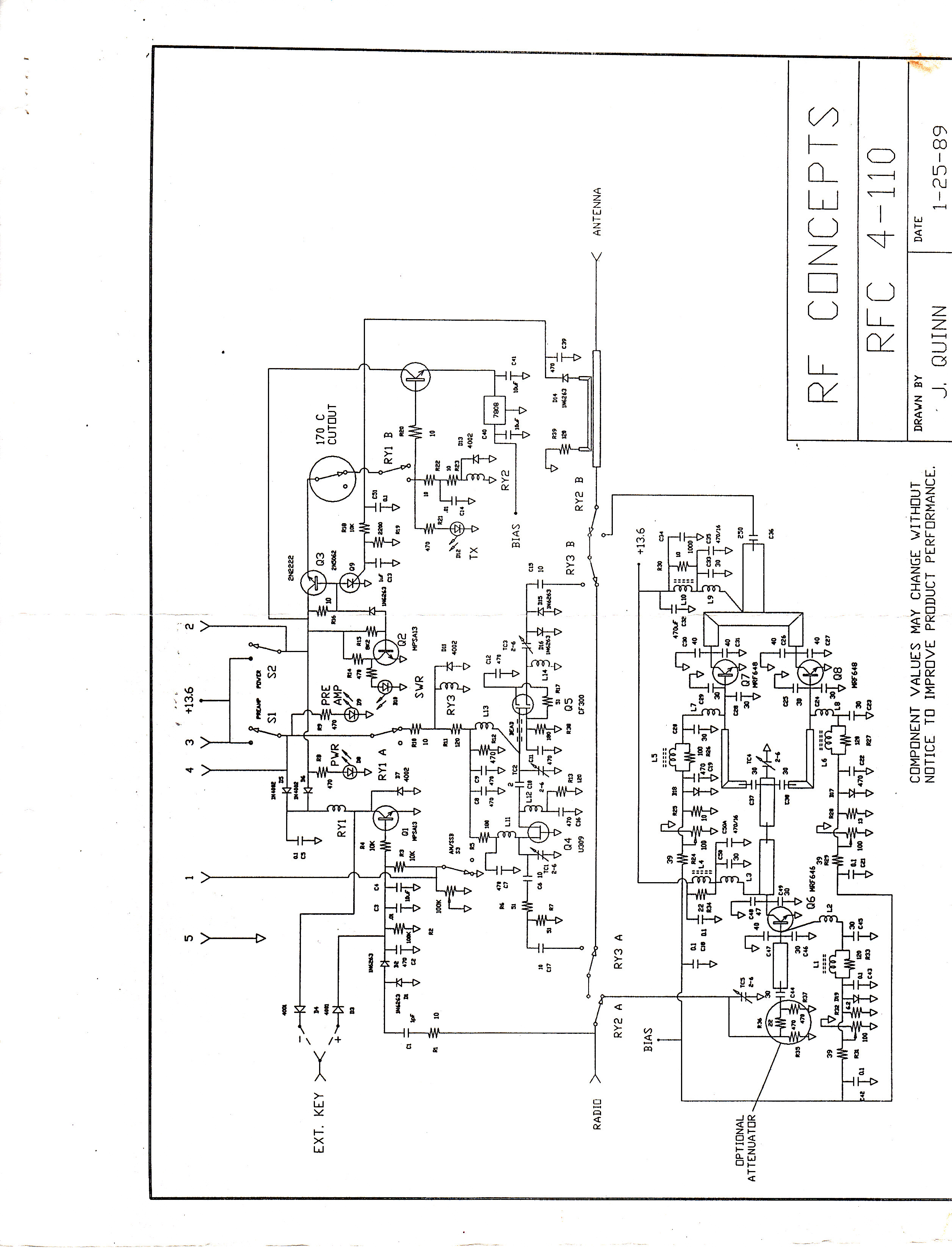 Mmt and sinclabs transverters st144 28 and st220 48 144 mhz 222 mhz manual for rf concepts rfc 4 110 lifier at whirlpool 465 oven wiring schematic