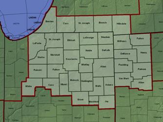 IWX county warning area