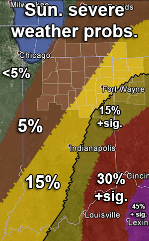 Day 2 convective outlook map