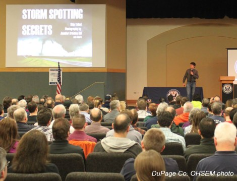 Seminars around Indiana provide opporutnities for advanced training for SKYWARN storm spotters