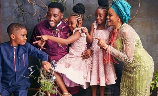 Timi Dakolo family