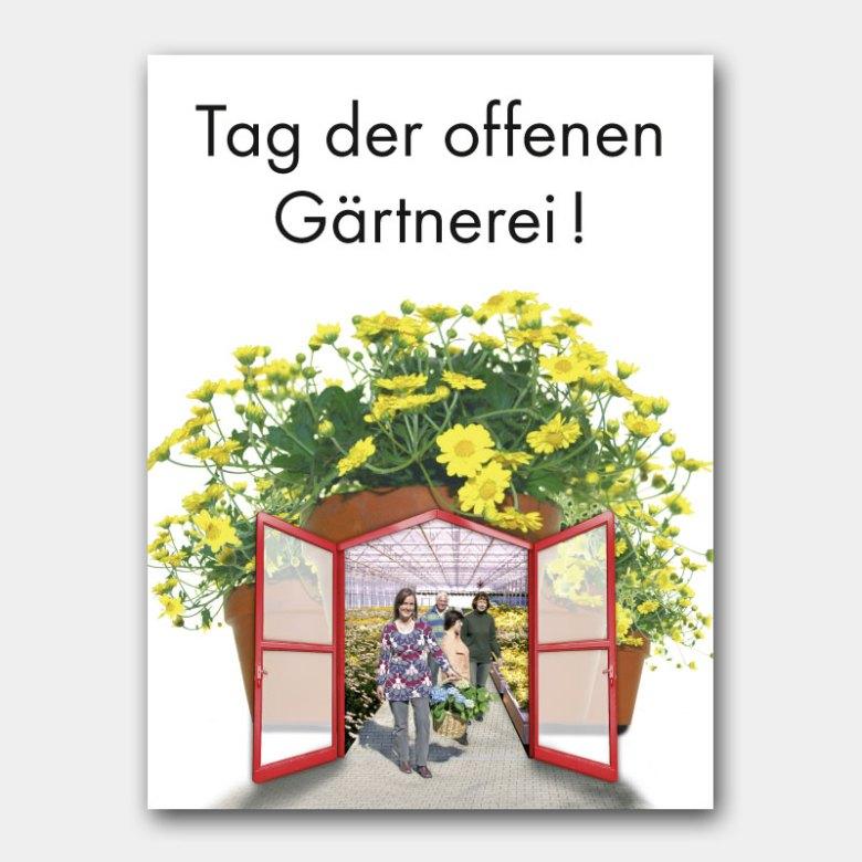 Key Visual für Aktionstag württembergischer Gärtnereien