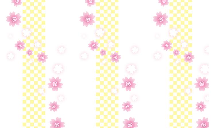 春よ来い来い♪桜柄の包装紙