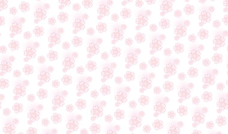ゆるりふんわり。桜柄の包装紙