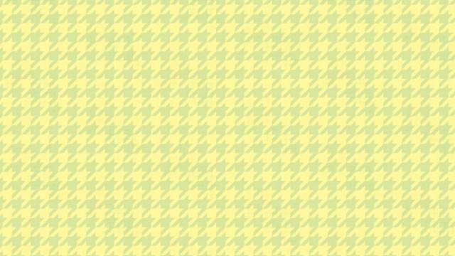 春色菜の花の色使い!千鳥格子の包装紙