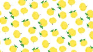 ほっこり柚子柄の包装紙