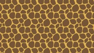 アニマルパターン!キリン柄の包装紙
