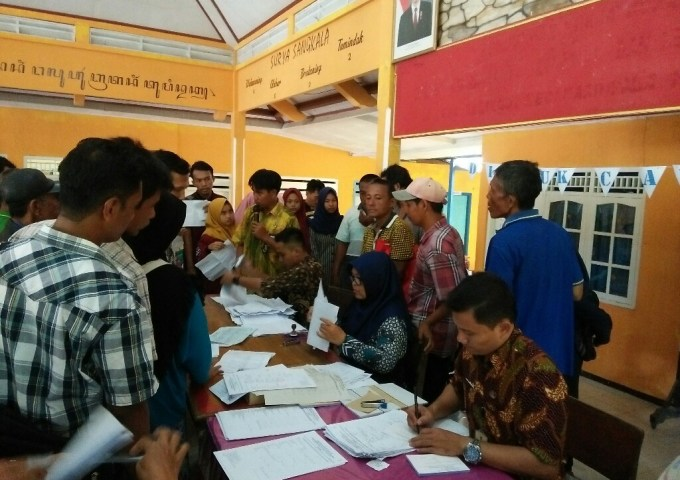 Ratusan Warga Hadiri Inovasi Layanan Satu Atap di Wilayah Kecamatan Adipala