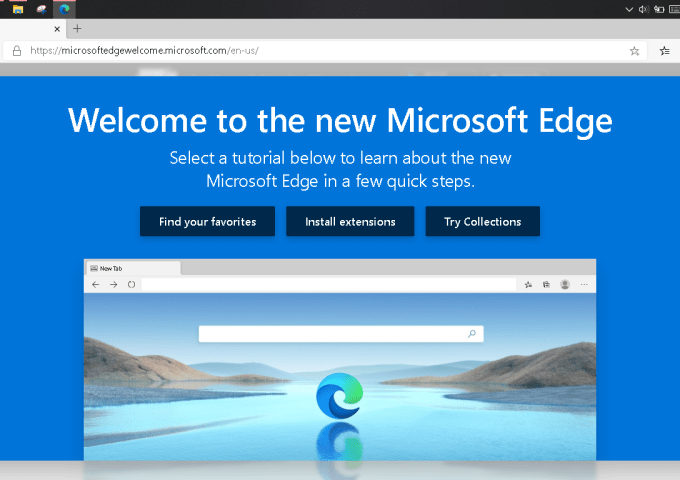 Microsoft Edge Browser Baru Pengganti Internet Explorer
