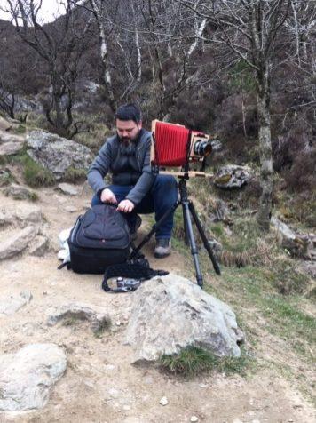 Slow photography en Écosse avec une chambre 8x10