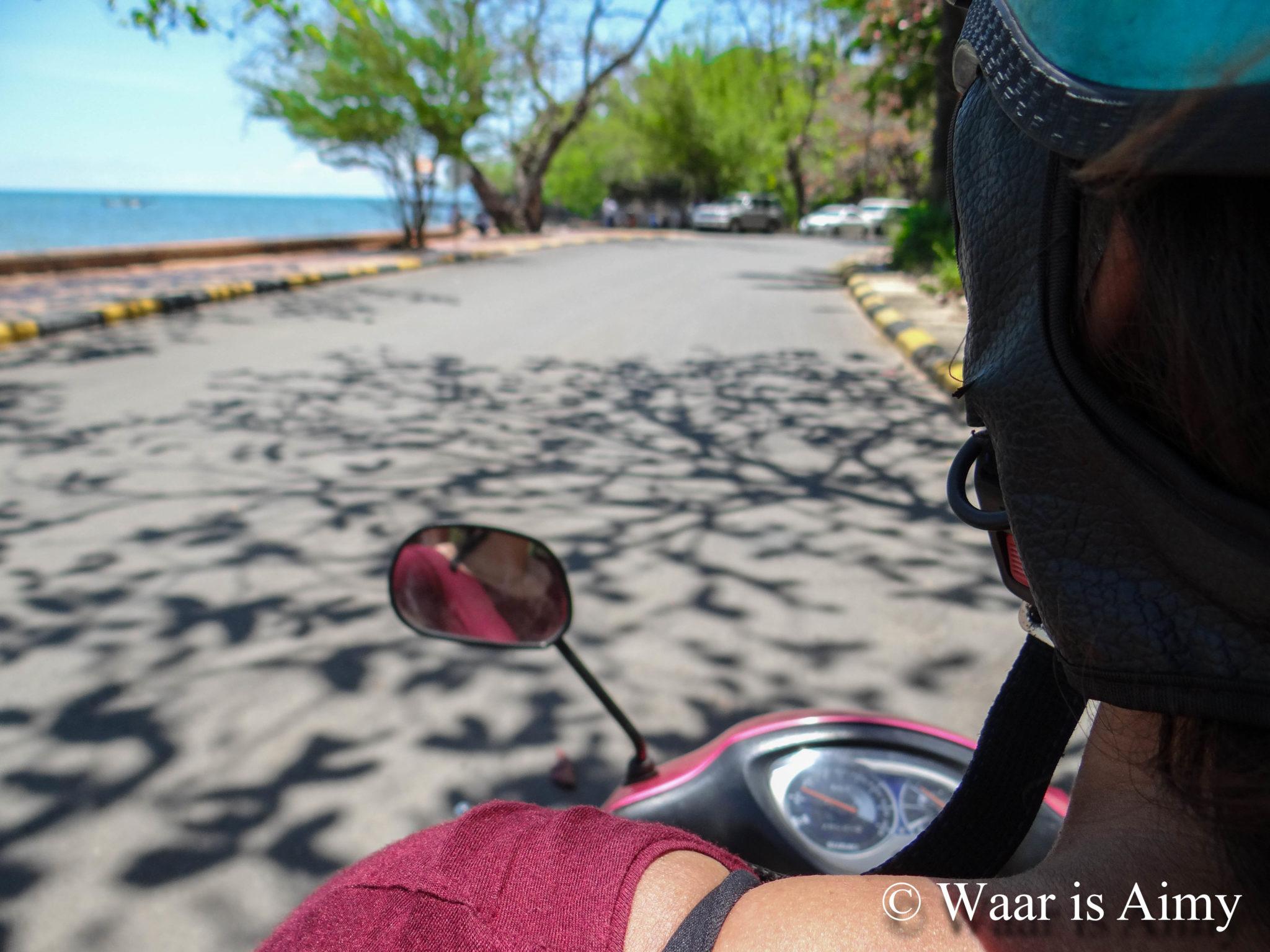 Scooter rijden - Waar is Aimy