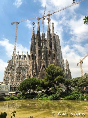 Waar is Aimy - Sagrada Familia