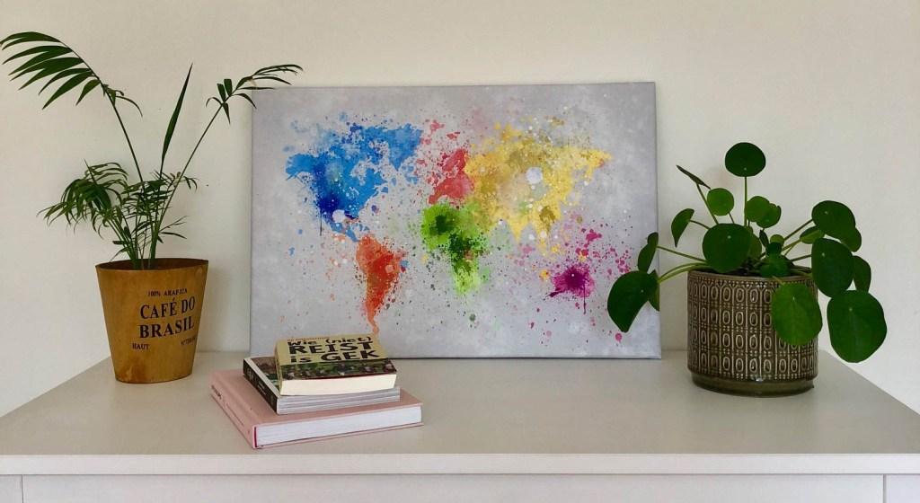 Wereldkaarten.nl Splash - Waar is Aimy