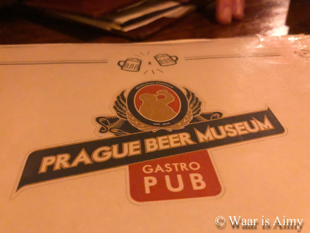 Prague Beer Museum - Waar is Aimy