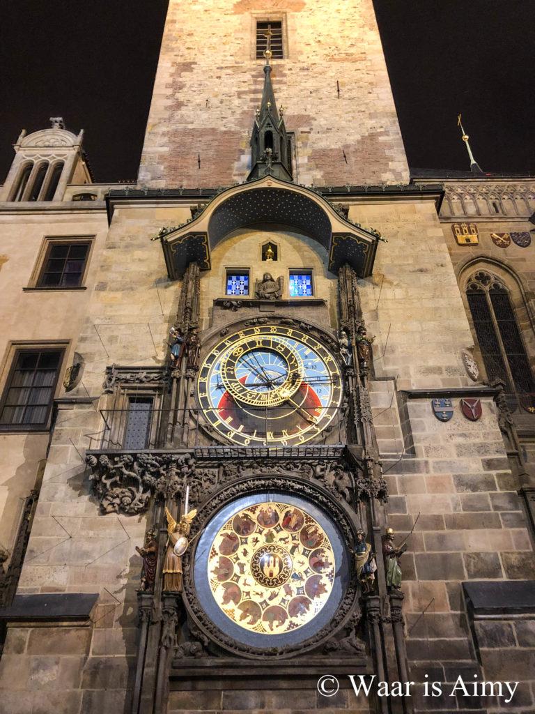 Astronomische Klok Praag - Waar is Aimy