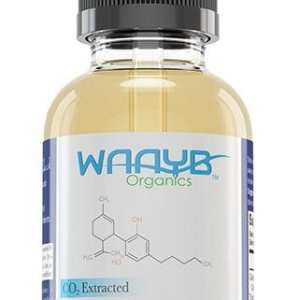 WAAYB Organics Mint Hemp Extract Oil