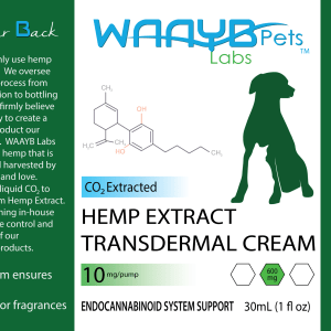 WAAYB Organics Transdermal Hemp Extract for Pets
