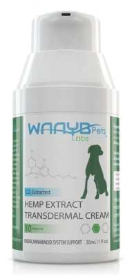 Transdermal Hemp Extract Oil for Pets