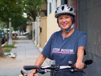 Looking for something to wear on those rare occasions you're not on your bike? Our stylish t-shirts help you show off all of the ways WABA makes bicycling better!