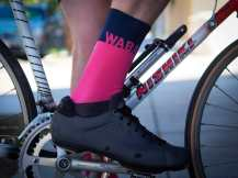 Make sure your feet are sending the right message with a pair of WABA Better Bicycling socks by Primal!