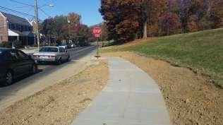 Crittenden Rd NE entrance