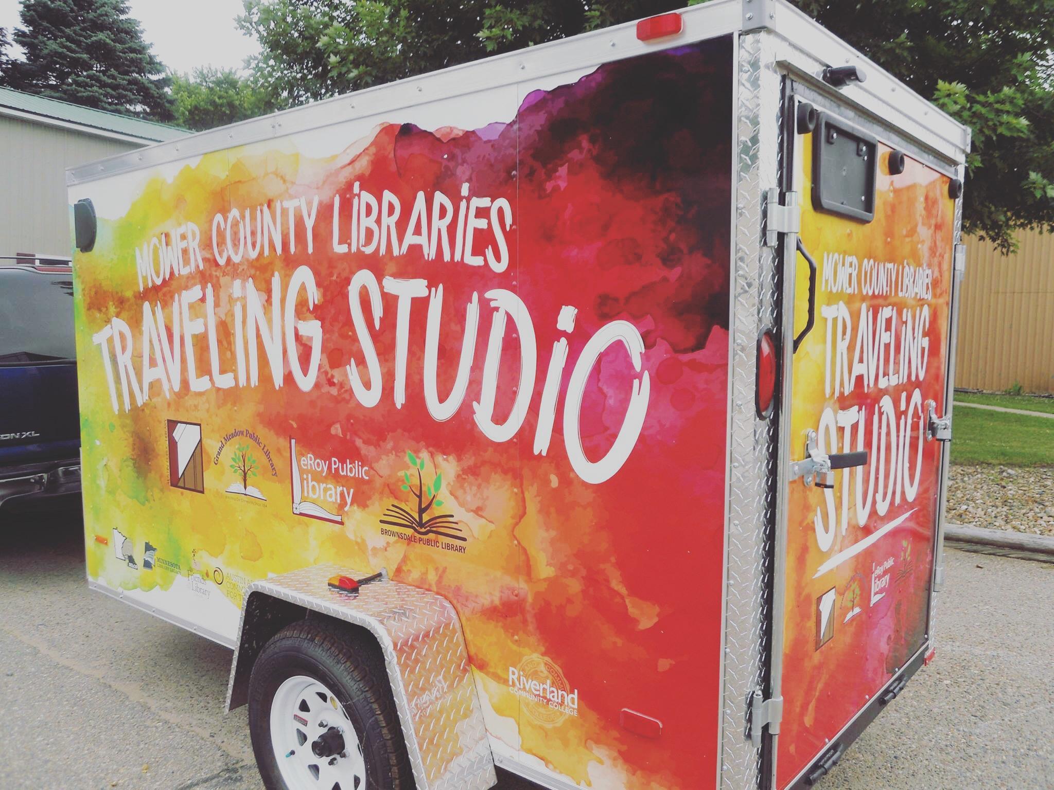 Traveling Art Trailer Wabasha Public Library