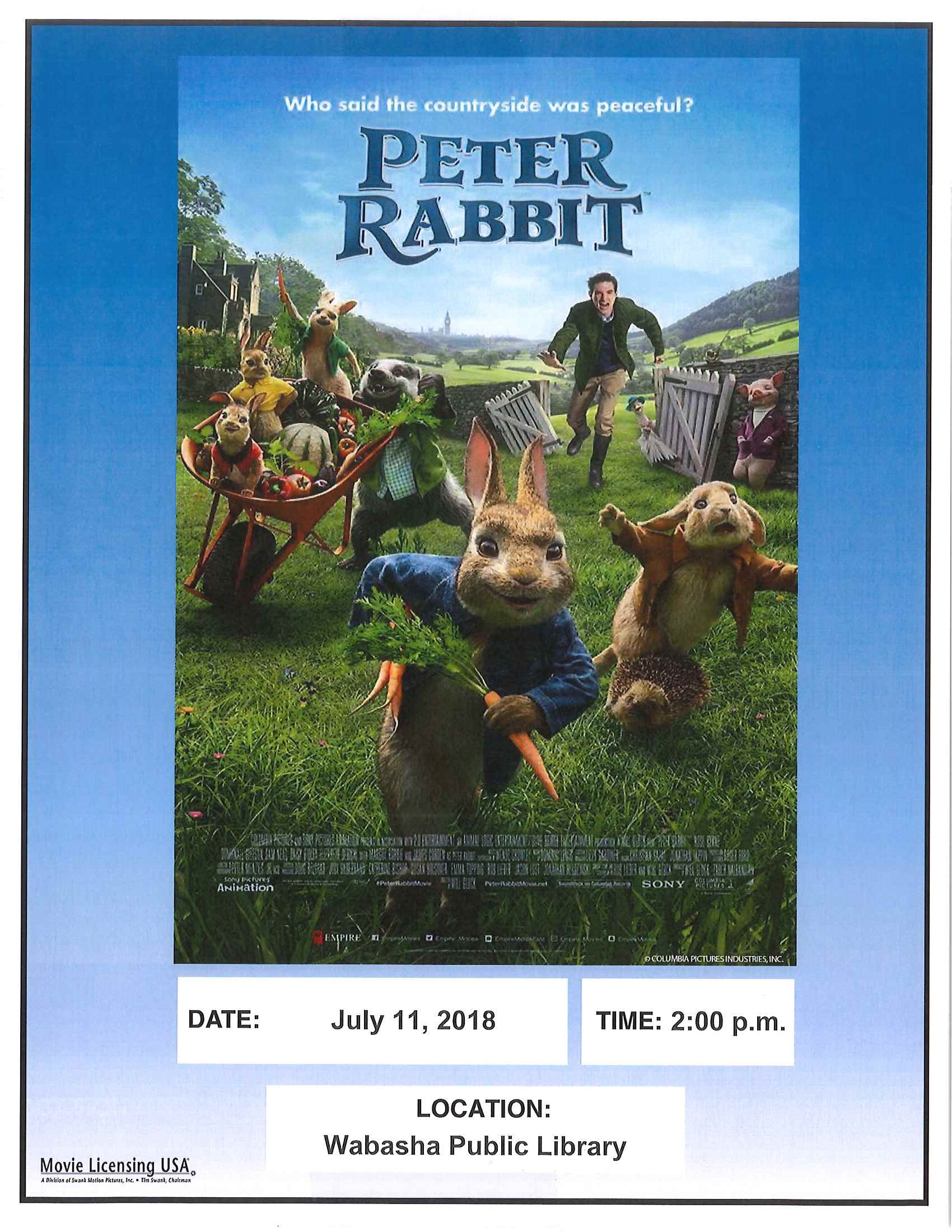 Book To Movie Event In The Children S Library Wabasha Public Library