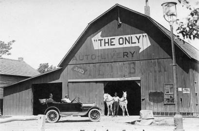 Pride's Auto Livery, Paxico, Kansas