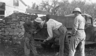 Prisoners of War Work on a Wabaunsee County Farm