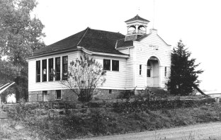 The District 15 School was located on Southwest Douglas Road in Dover, Kansas, one-quarter of a mile south of K-4 Highway. Today this is a private residence. Photo Courtesy Chester Todd.