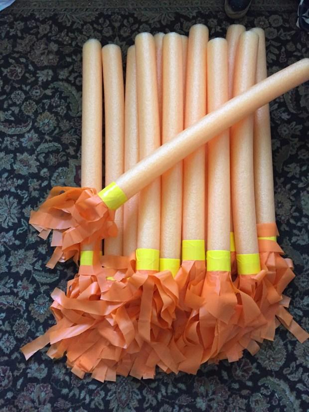 Harry Potter Party Quidditch Brooms Wabi Sabi Crafts