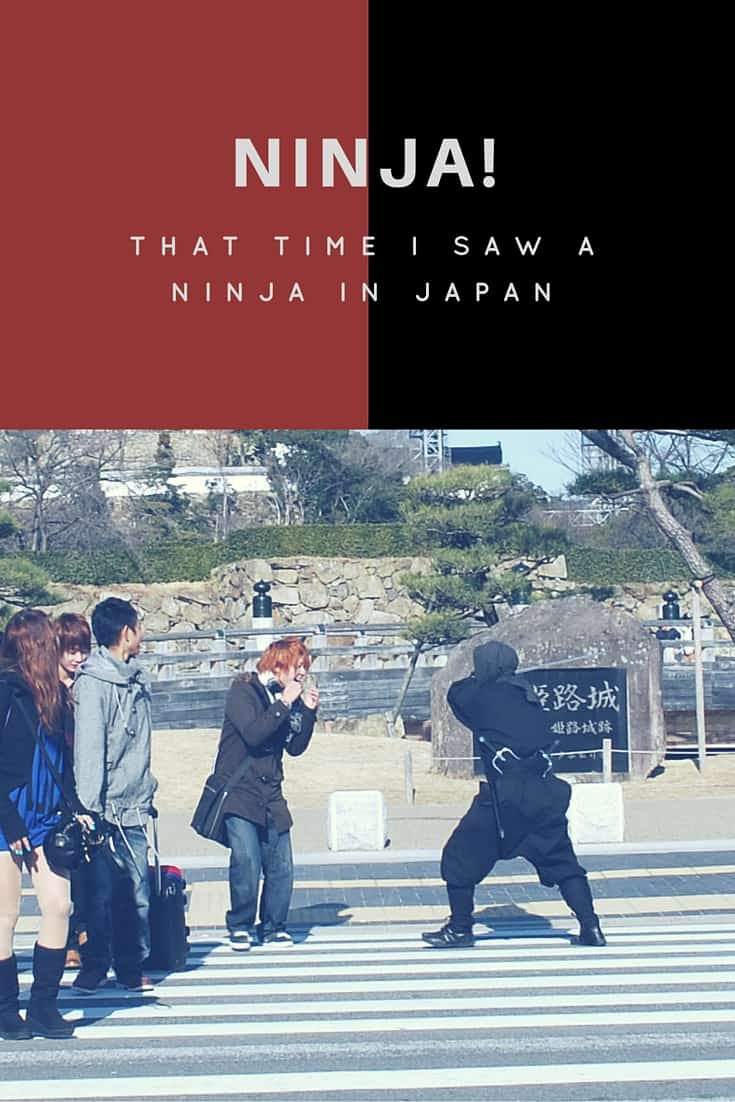 That time I saw a ninja in Japan