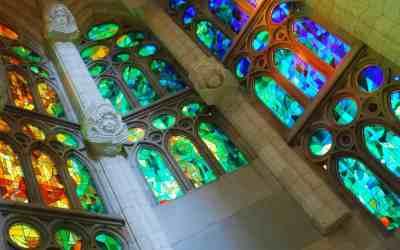 Sagrada Familia Stained Glass