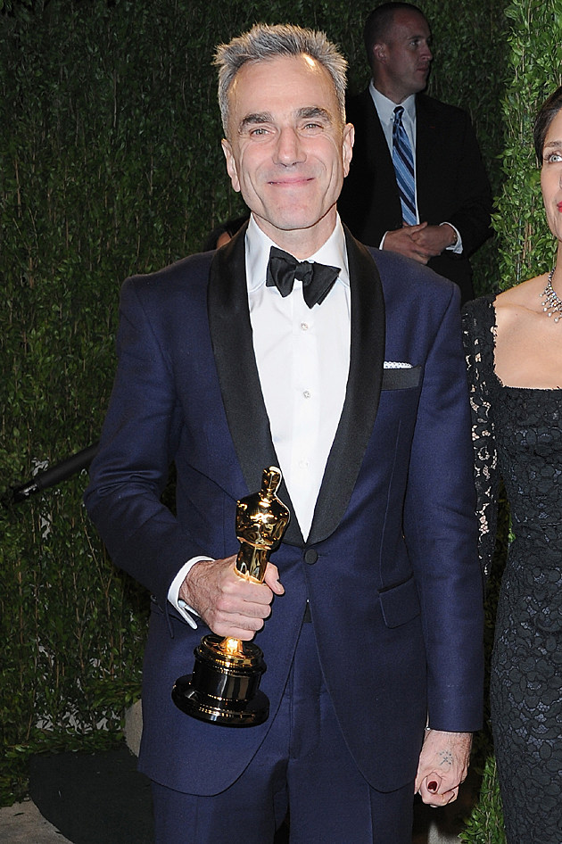 Daniel Day-Lewis at the 2013 Vanity Fair Oscar Party